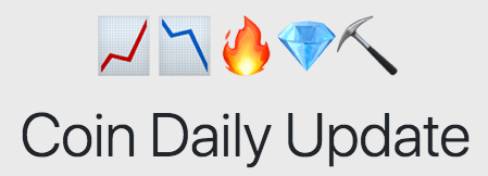 Coin Daily Update Logo - Crypto Price Trackers