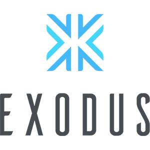 Exodus Logo - Crypto Wallets