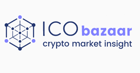 ICObazaar Logo - Crypto Initial Coin Offerings (ICO)