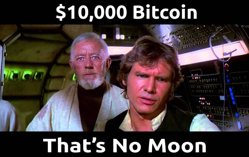 10000 Bitcoin Thats No Moon - Crypto Memes