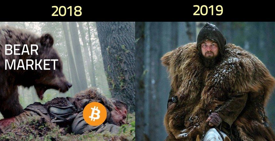 Bear Market 2018 vs 2019 - Crypto Memes