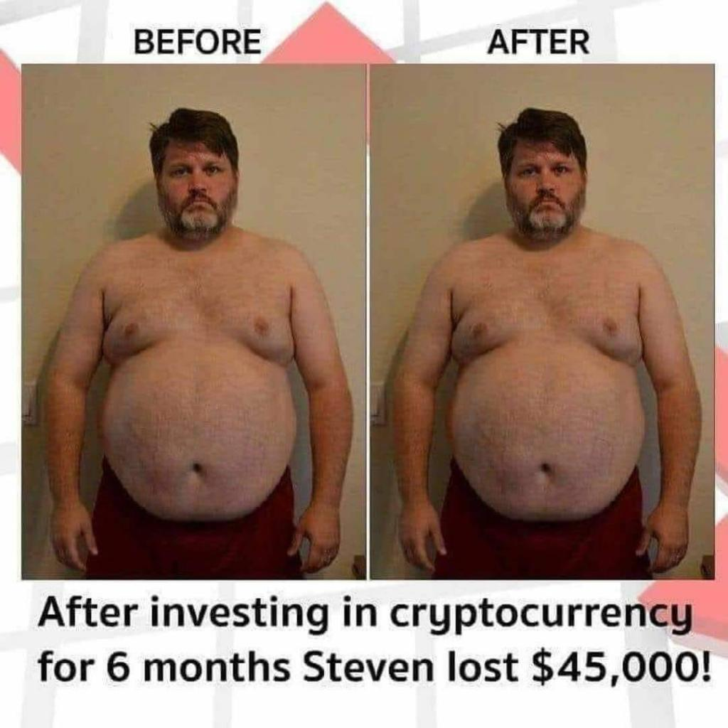Before And After Investing In Cryptocurrency - Crypto Memes