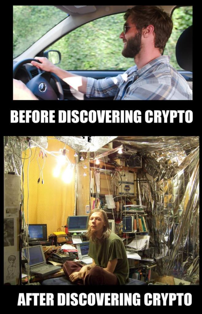 Before Discovering Crypto vs After Discovering Crypto - Crypto Memes
