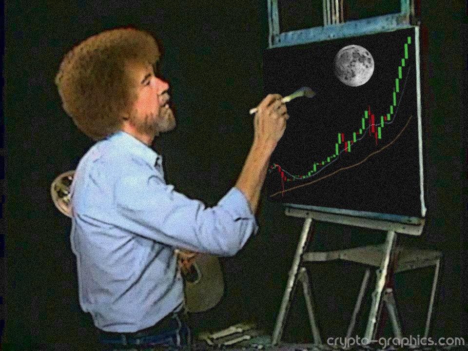 Bob Ross - Crypto Memes