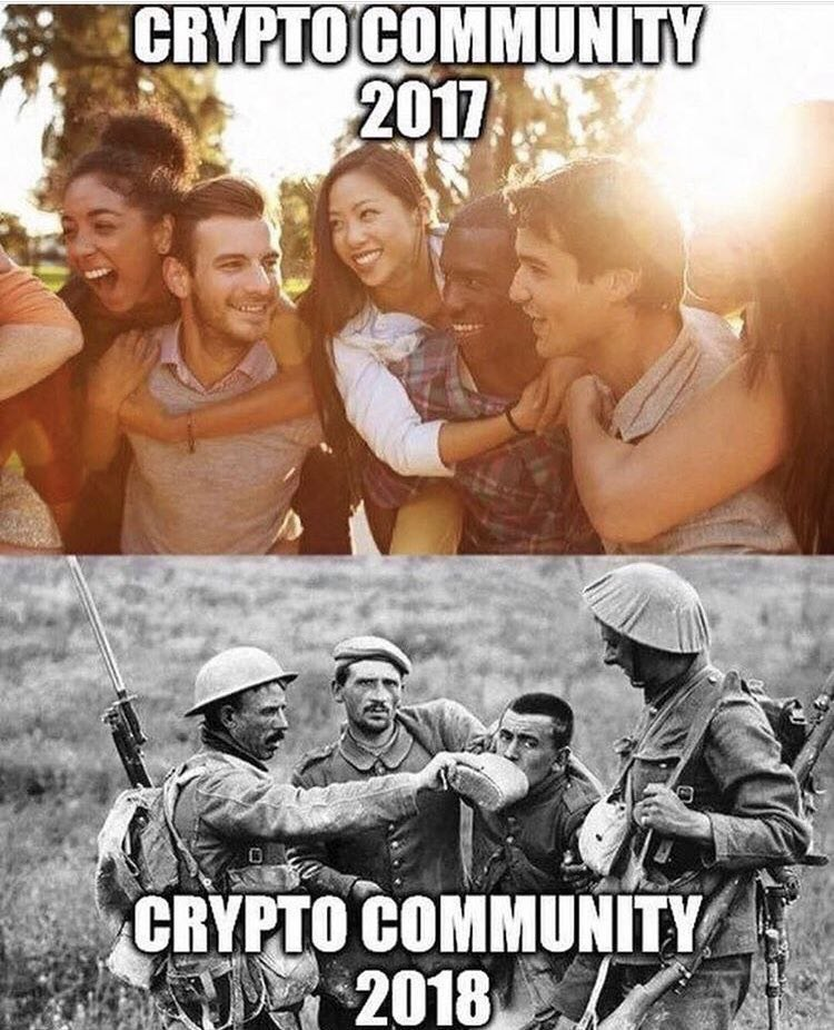 Crypto Community 2018 - Crypto Memes