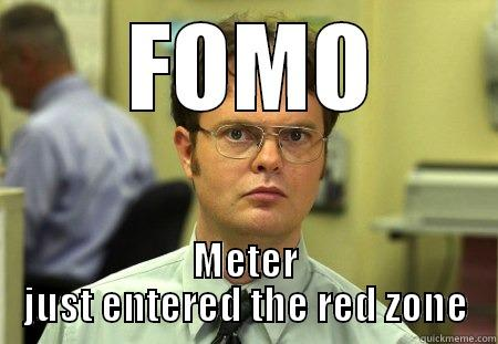 FOMO Meter Just Entered The Red Zone - Crypto Memes