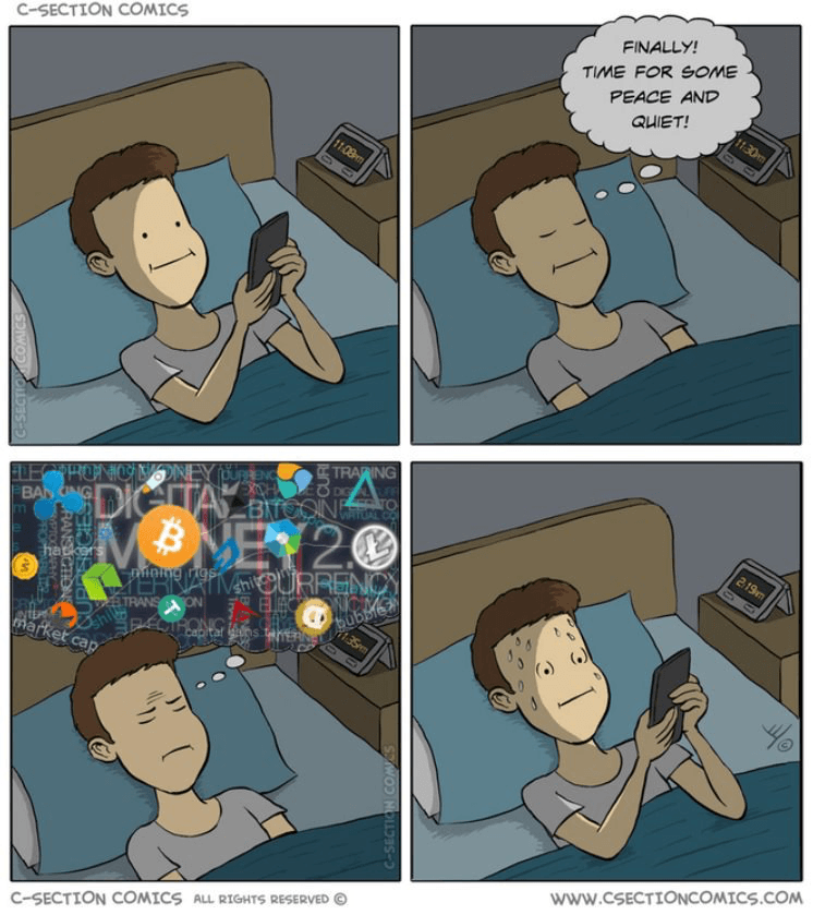 Finally Time For Some Peace And Quiet - Crypto Memes
