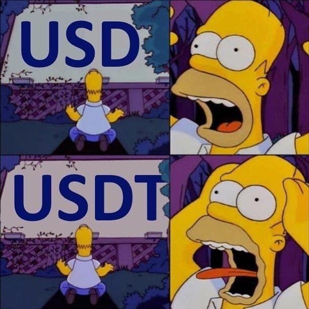 Homer USD USDT - Crypto Memes