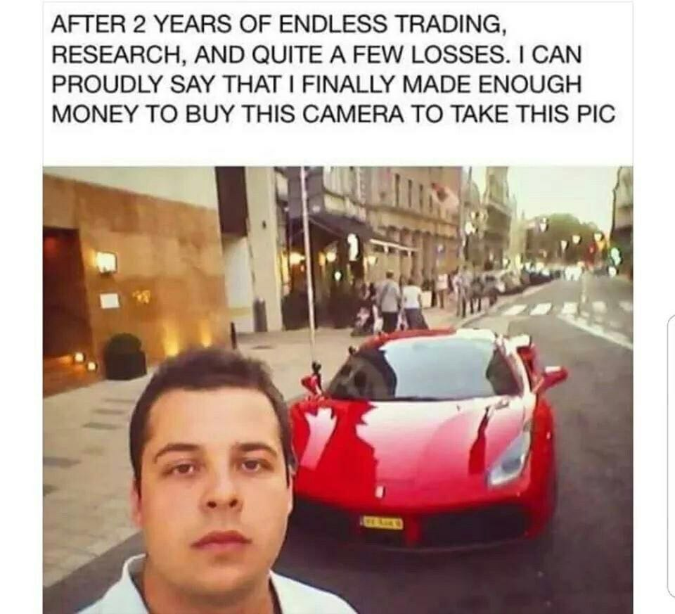 I Can Proudly Say That I Finally Made Enough Money To Buy This Camera To Take This Pic - Crypto Memes
