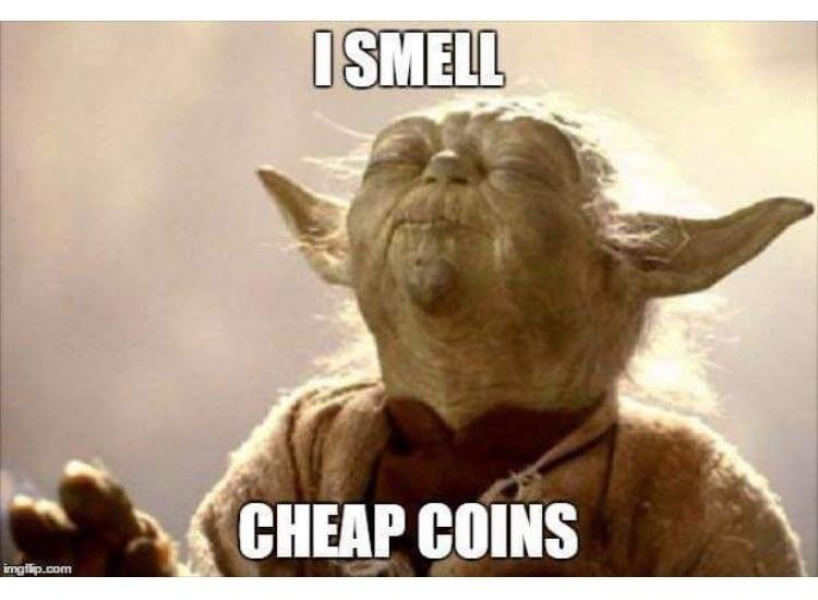 I Smell Cheap Coins - Crypto Memes