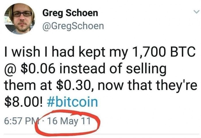 I Wish I Had Kep My 1700 BTC Instead Of Selling - Crypto Memes