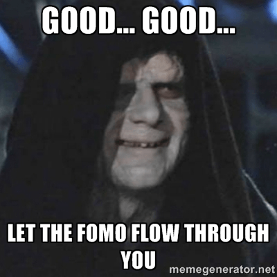 Let The FOMO Flow Through You - Crypto Memes
