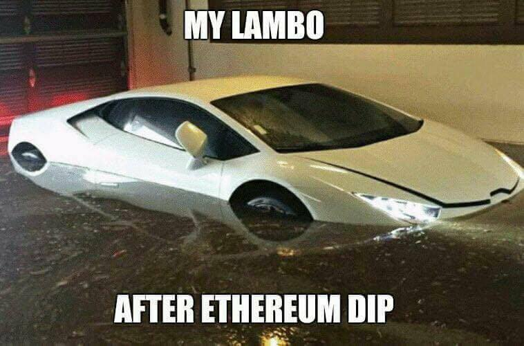 My Lambo After Ethereum Dip - Crypto Memes
