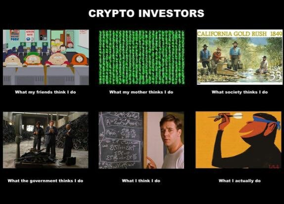 What Crypto Investors Really Do - Crypto Memes