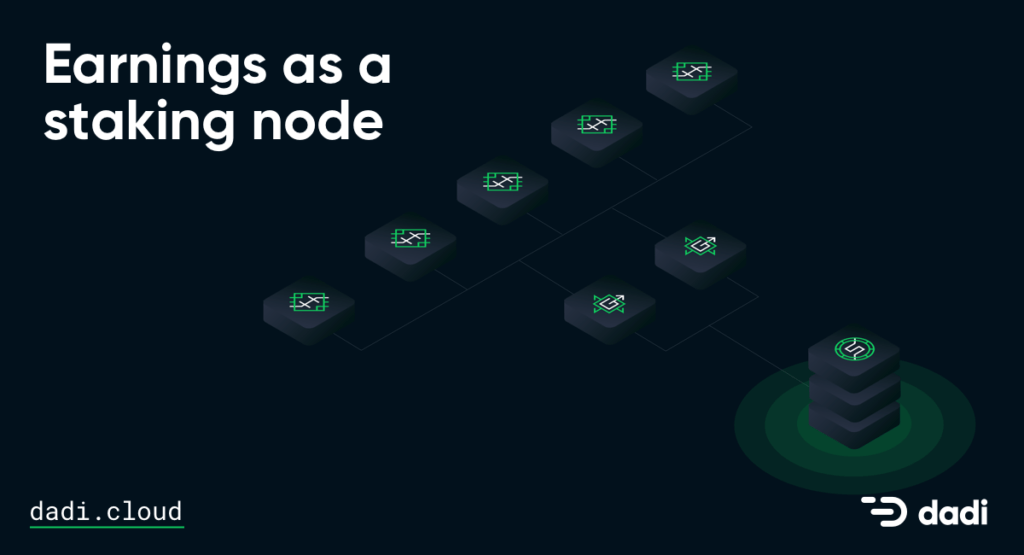 DADI Earning as a Staking Node